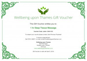 Wellbeing upon Thames Gift Voucher